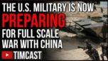 The US Now Prepping For WAR With China, Dispatching Air Force Across Pacific - Timcast