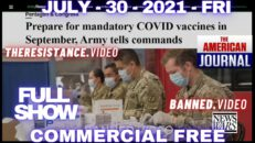 Planetwide Bombshell: Countries With Over 90% Vaccinated Have Highest Covid Rates -Alex Jones Show 07/30/21