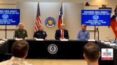 President Trump Visits The Border In Weslaco, TX for Border Security Briefing 06/30/21