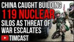 China Caught Building Over 100 Nuclear Missile Silos As Threats Of War Escalate, Taiwan At Risk. Chinese state media is warning the US against defending Taiwan.