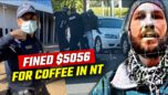 Man arrested and fined $5k for drinking coffee without mask - Rebel News