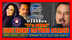 Mike Lindell Releases First Packet Captures; HE HAS 37 TERRABYTES OF ELECTION DATA! - Pete Santilli Show