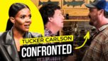 Tucker Carlson HARASSED in PUBLIC — Candace Owens Reacts