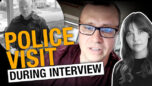 Cop shows up during interview! Indie journo in hot water after covering anti-lockdown rally -Rebel News