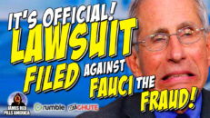 It's Official! Fauci The Fraud Named In Massive Vax Scam Lawsuit Filed By American Frontline Doctors - James RedPills America
