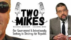 For the First Time in US History, our own Government is Seeking to Destroy the Republic - Two Mikes