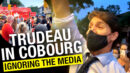 Justin Trudeau faced with onslaught of boos and heckling during first campaign stop in Cobourg, Ont. - Rebel News