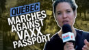 Thousands march during protests against the vaccine passports in Quebec - Rebel News