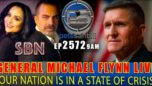 """Gen. Michael Flynn """"Our Nation Is In A State Of Crisis"""" - The Pete Santilli Show"""