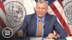 De Blasio Goes FULL COMMIE With Vaccine Announcement That Has People Freaking Out