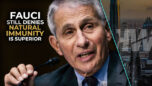 FAUCI STILL DENIES NATURAL IMMUNITY IS SUPERIOR - Highwire with Del Bigtree