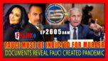 DOCUMENTS REVEAL: ENOUGH EVIDENCE EXISTS TO INDICT FAUCI FOR MURDER - Pete Santilli Show 09/10/21
