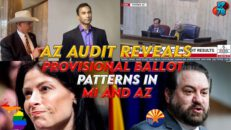 AZ Audit Reveals Fraud Patterns In Swing States - RedPill78 The Corruption Detector