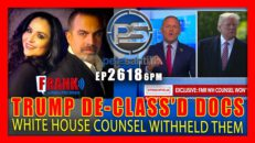 TRUMP DE-CLASSIFIED DOCUMENTS TO PROSECUTE FBI; WHITE HOUSE COUNSEL WITHHELD THEM - Pete Santilli Show