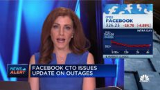 Facebook CTO on service outages: We're working quickly to restore services