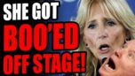 Jill Biden BOO'ED OFF STAGE In Virginia! Another Failed Effort To Boost Terry Mcauliffe!