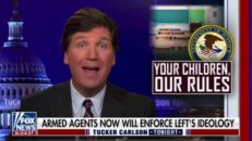 Tucker Carlson BLASTS Dems And FBI For Treating Concerned Parents Like Terrorists