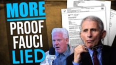 NEW documents provide MORE PROOF Fauci lied about COVID research