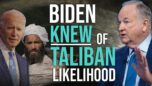 Bill O'Reilly: Biden call is PROOF he LIED about Taliban threat in Afghanistan